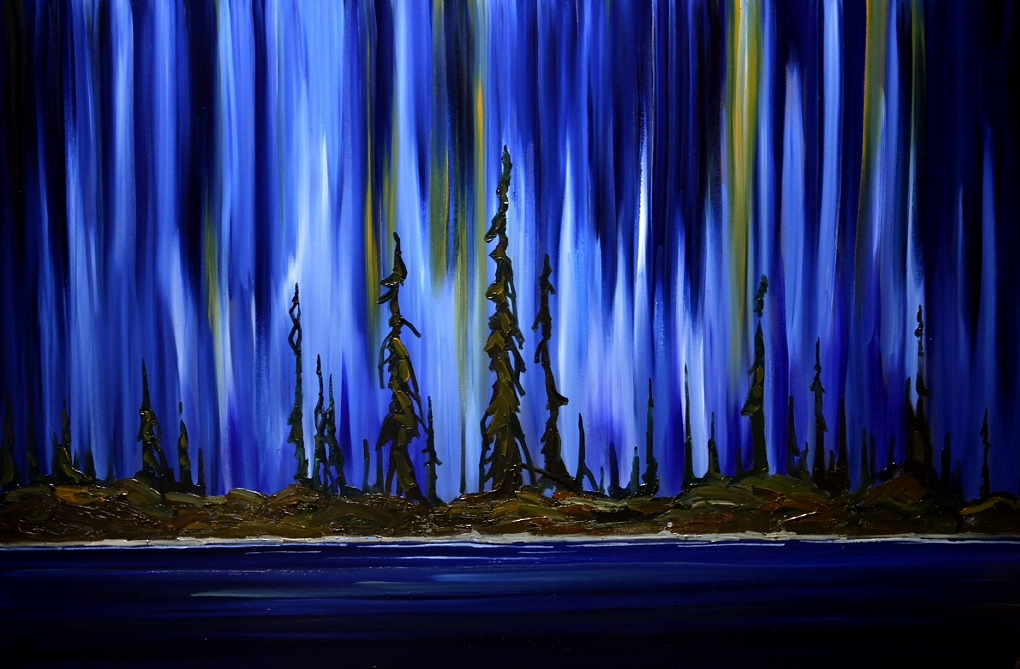 For The Love Of Northern Lights Paintings
